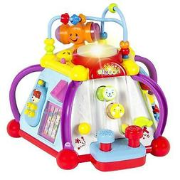 Liberty Imports 15-in-1 Musical Activity Cube Educational Ga