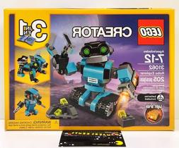LEGO 31062 Creator 3 in 1 Robo Explorer Robot Dog Bird 205 P
