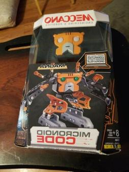 Meccano Code Magna Programmable Robot Building Kit - Orange