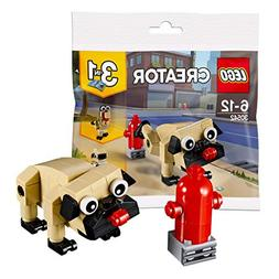 LEGO Creator 3 in 1 Pug, Turkey, and Koala Bear  Bagged