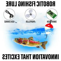 Electric Live bait, Robotic Segment Fishing Lure - Animated