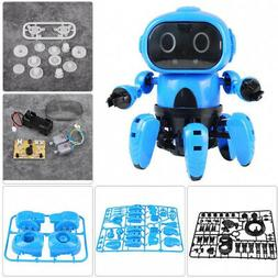 Dilwe Electric Robot, DIY Electric Toy Infrared Obstacle Avo