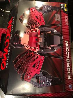Meccano Erector MeccaSpider Robot Kit For Kids to Build STEM