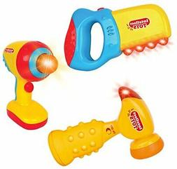Liberty Imports Intellectual Musical Baby Toy Tools Set with