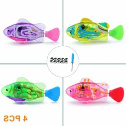 Wolover Interactive Swimming Robot Fish Toy For Cat And Dog