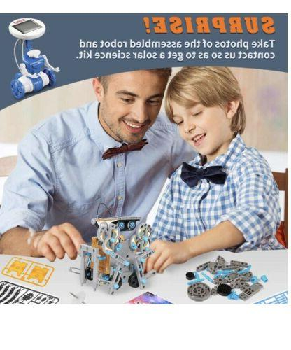 12 in 1 Solar Robot , Educational Learning Toys