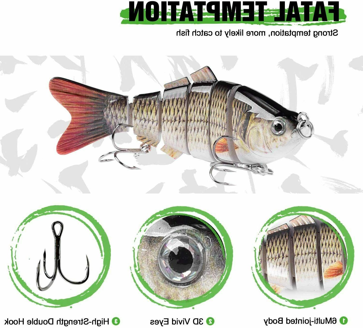 5 Bait Multi Jointed