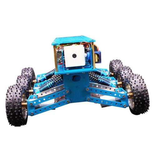 6WD Cross-Country Robot Car Kit Functional