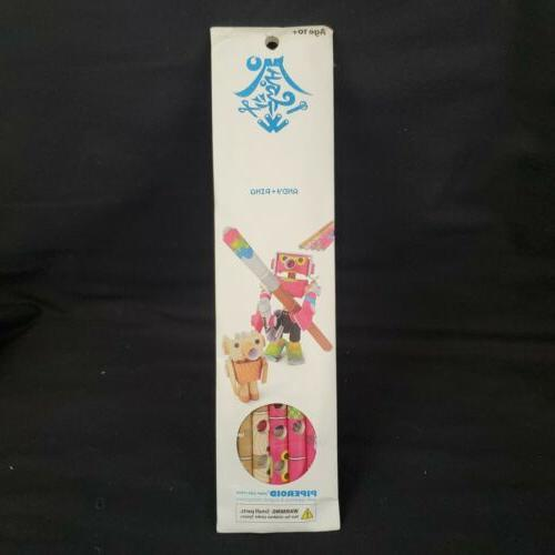 andy pino japanese paper pipe robots craft