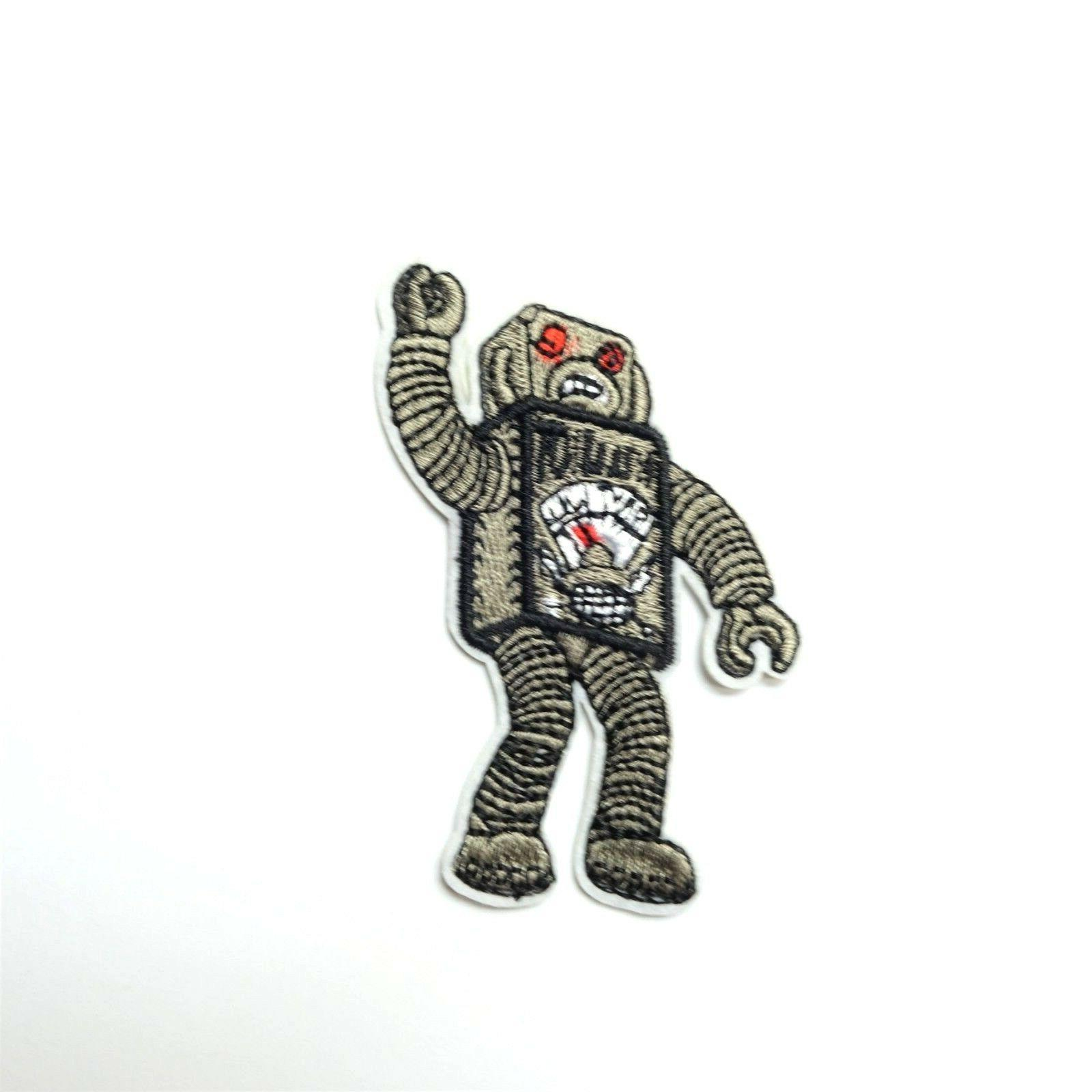 attack robot patch iron on sew on