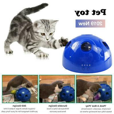 Pop N' Interactive Mouse Tease Electronic Pet Toy