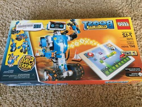 LEGO Boost 17101 Boost Creative Toolbox Code Robot NEW