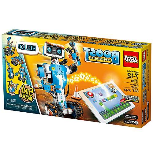 LEGO Toolbox 17101 Fun Robot Set and Educational Kit for STEM