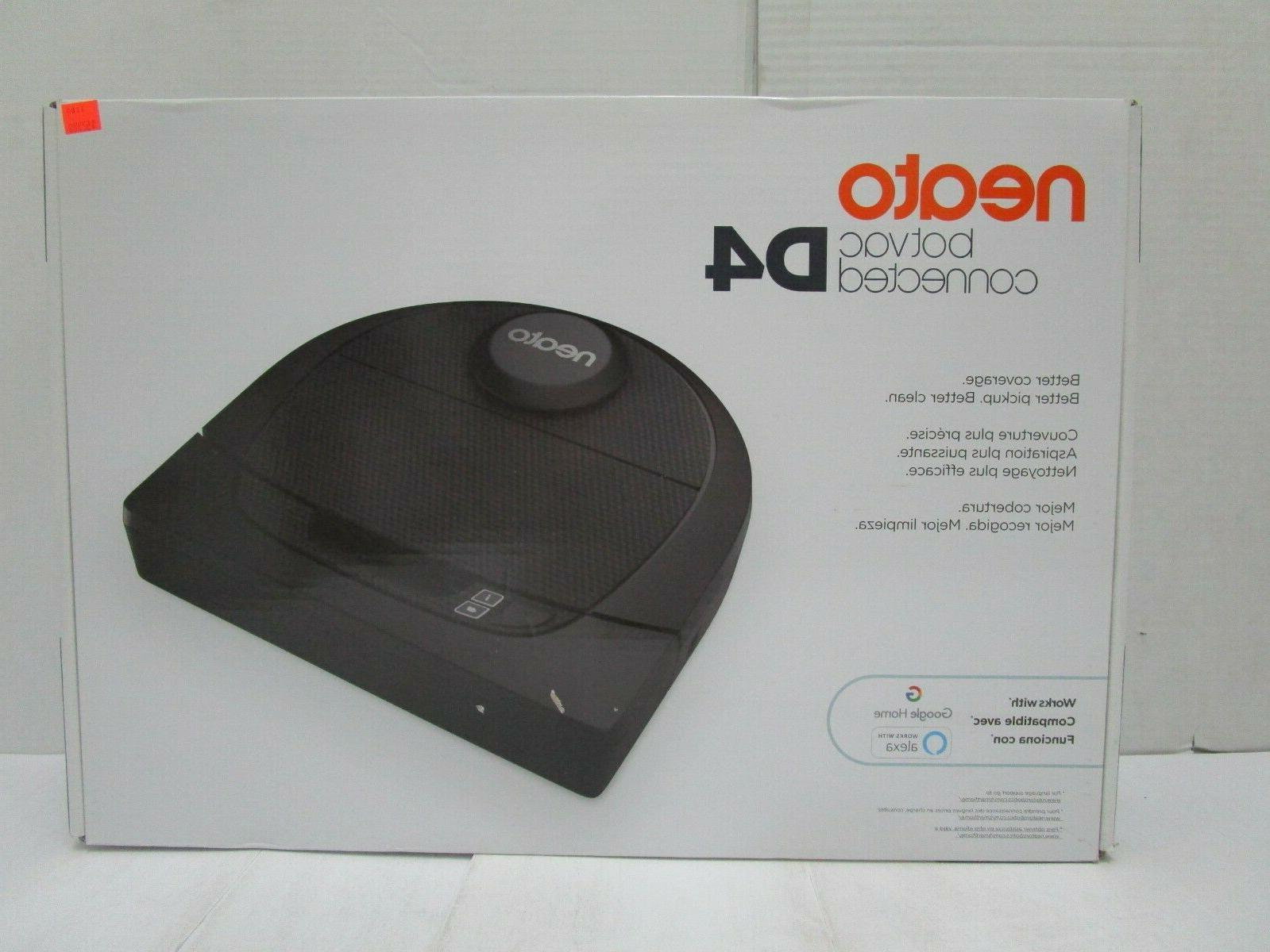 brand new botvac connected d4 robotic vacuum