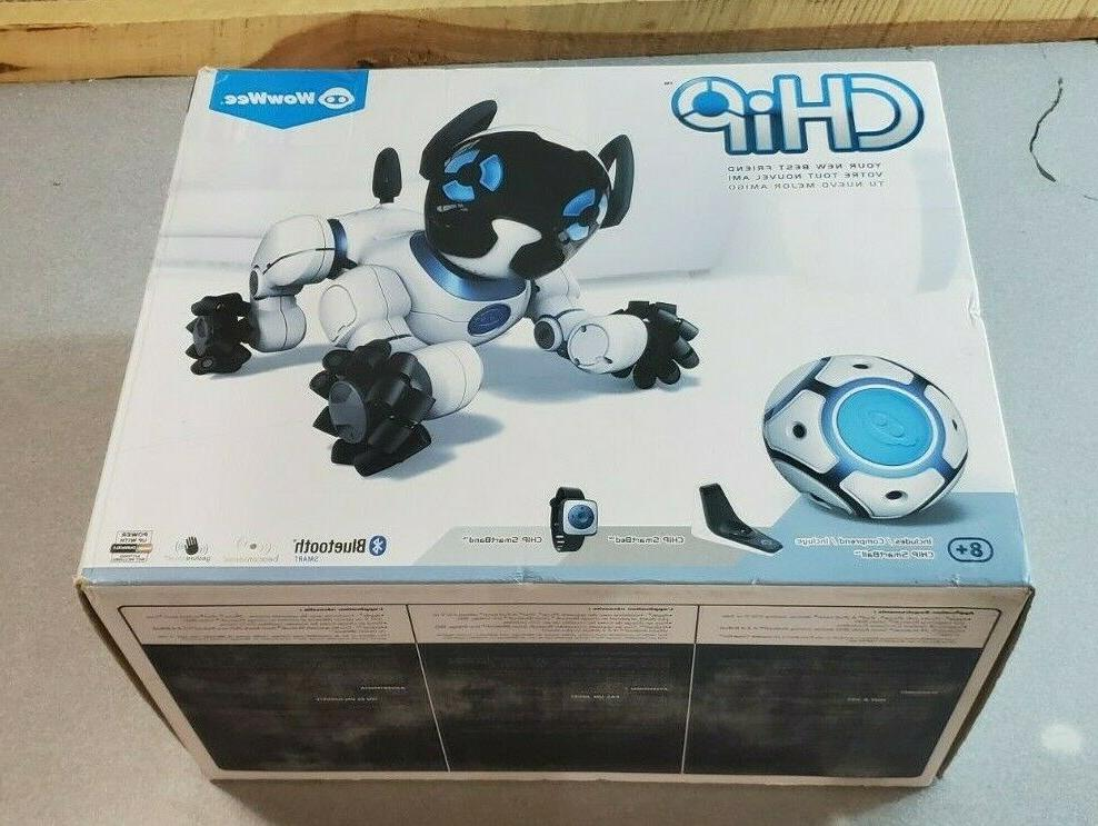 chip interactive robotic dog puppy new in