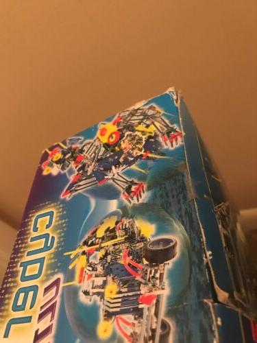 Cyber Robot Kit Full Set In A Box Manual NEVER
