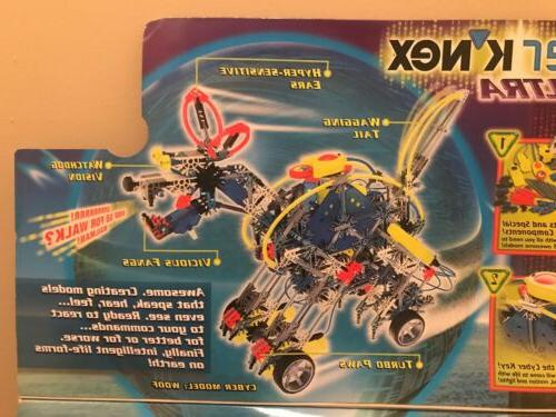 Cyber Knex Ultra Robot Kit Full Set A With Manual NEVER