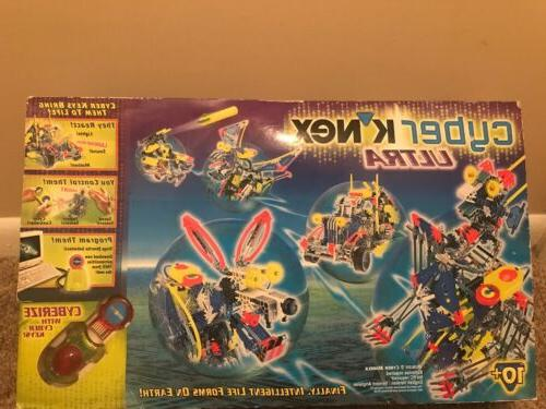Cyber Knex Kit Set A Box With Manual NEVER OPENED