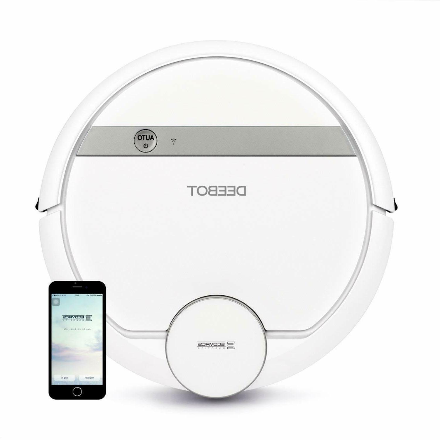 deebot d900 smart robotic vacuum with mapping
