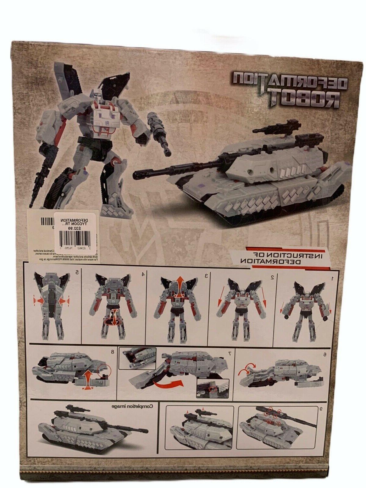 DEFORMATION TRANSFORMERS ROBOT TO