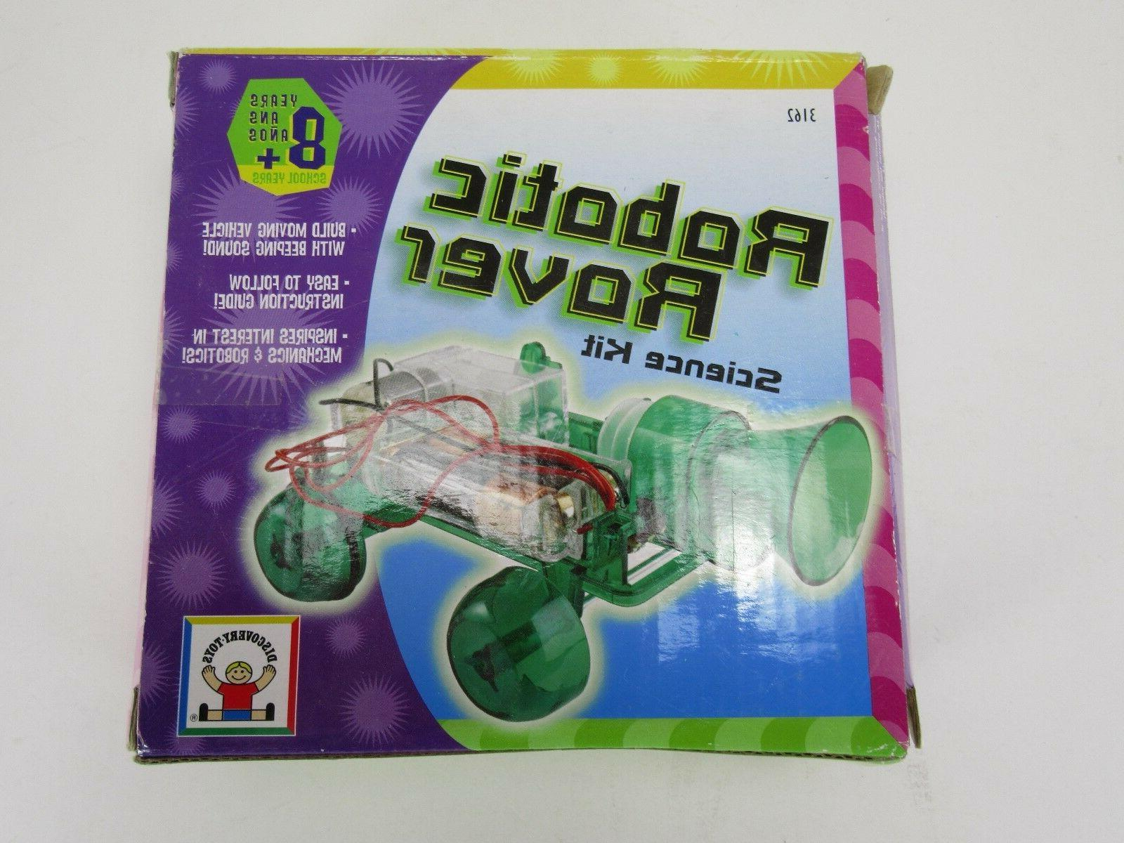 discovery toys robotic rover science kit educational