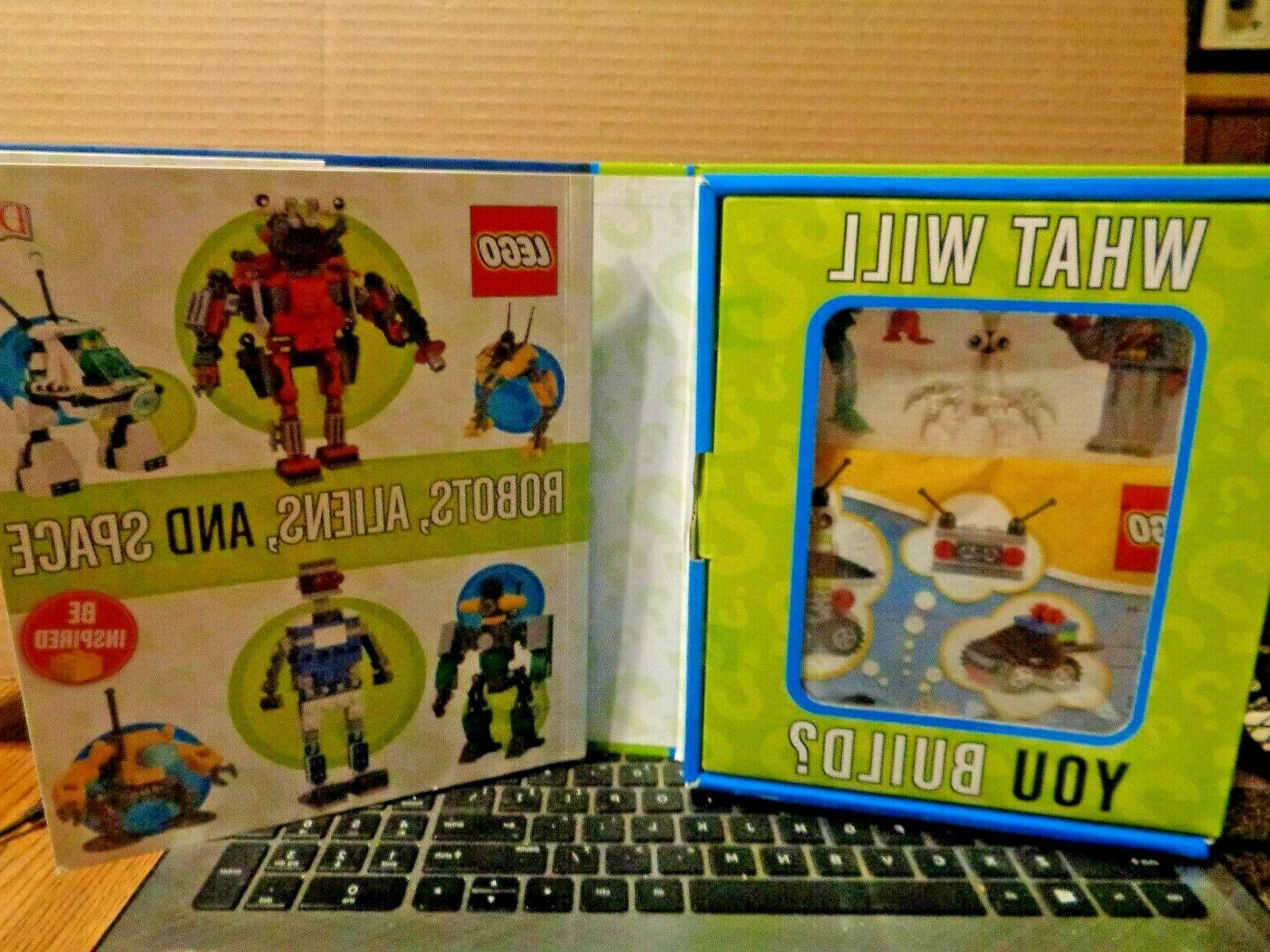 Lego & 56 Pcs. What Will You ALIENS,& SPACE,