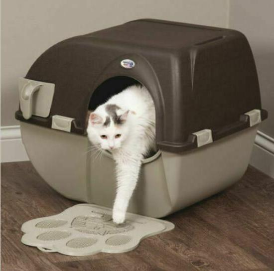 Easy SELF Automatic Cat Box Kitty Pull SCOOP Toilet Regular