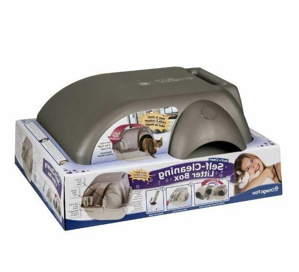 Easy CLEANING Cat Box Kitty Pull SCOOP Pet Toilet Regular