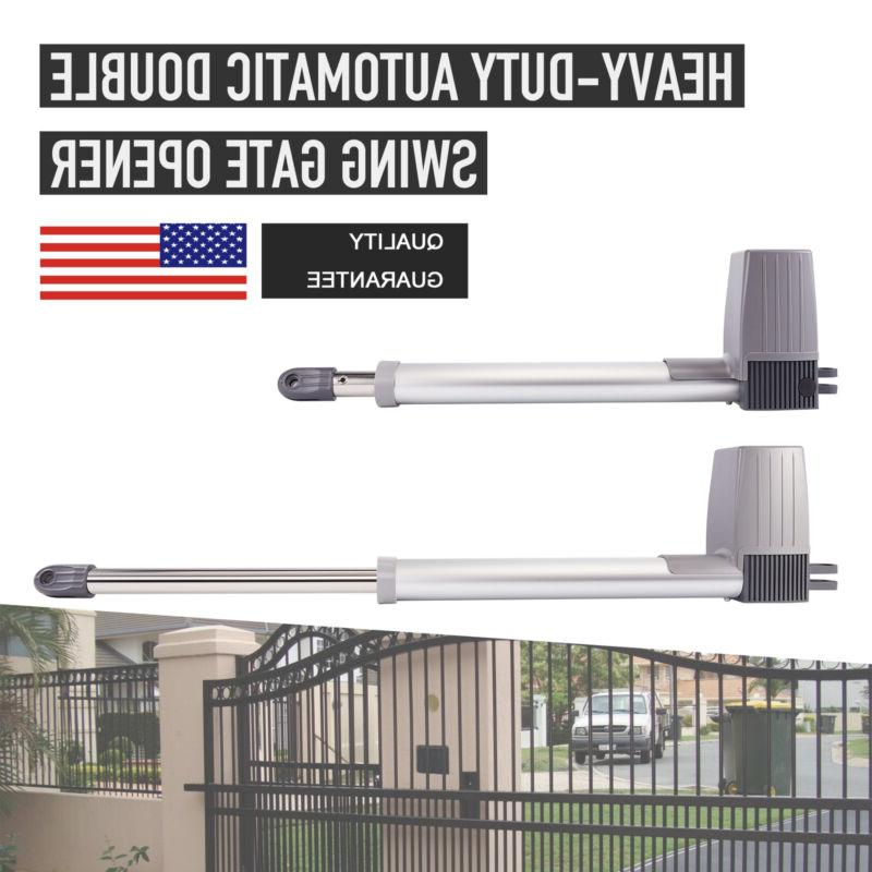 electric motor automatic dual swing gate openers