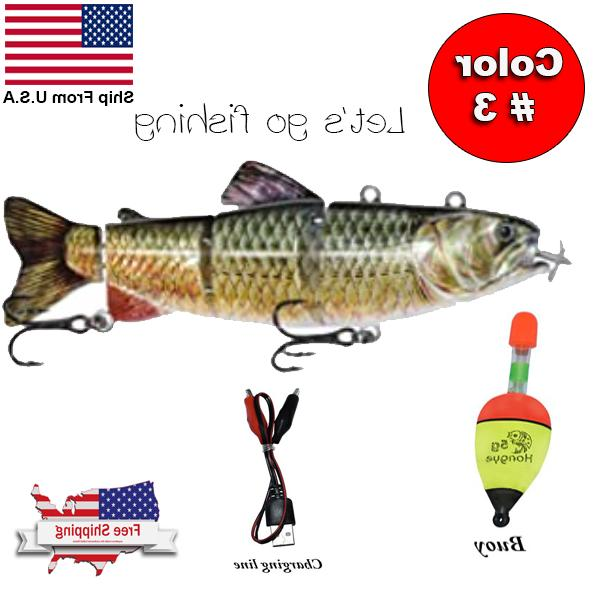 Fishing Lures Electric Lure Bait For 4-Segment