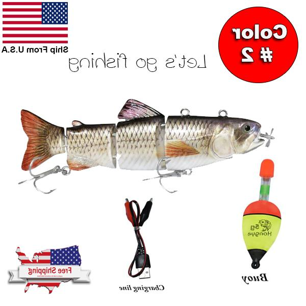 Fishing Robotic Swimming-Auto Electric Bait Wobblers For