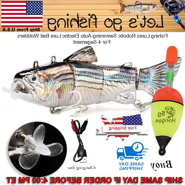 fishing lures robotic swimming auto electric lure