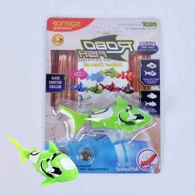 Hot Robotic Fish Activated Magical Electronic Toy Children Kid