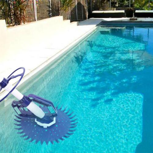inground above ground swimming pool automatic cleaner