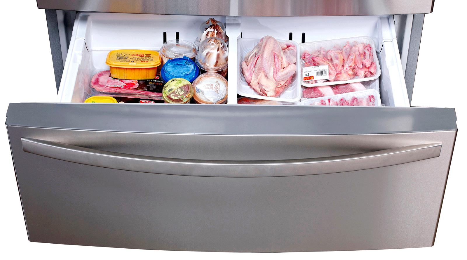 Kitchen Automatic Inch Refrigerator with Counter Depth French