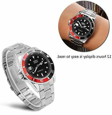 Male Automatic Mechanical Stainless Band H