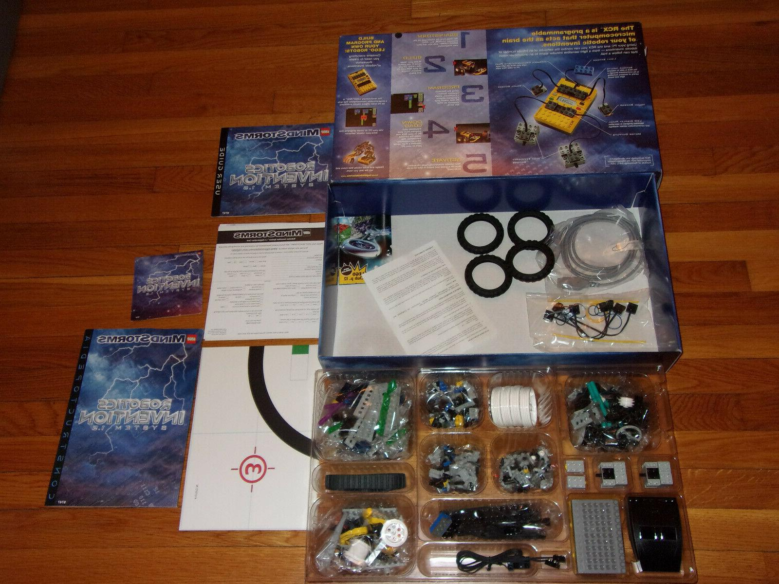 new 1999 mindstorms robotics invention system 1