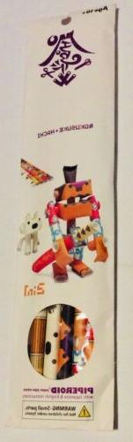 Piperoid Paper Pipe Robots Japanese Arts Crafts
