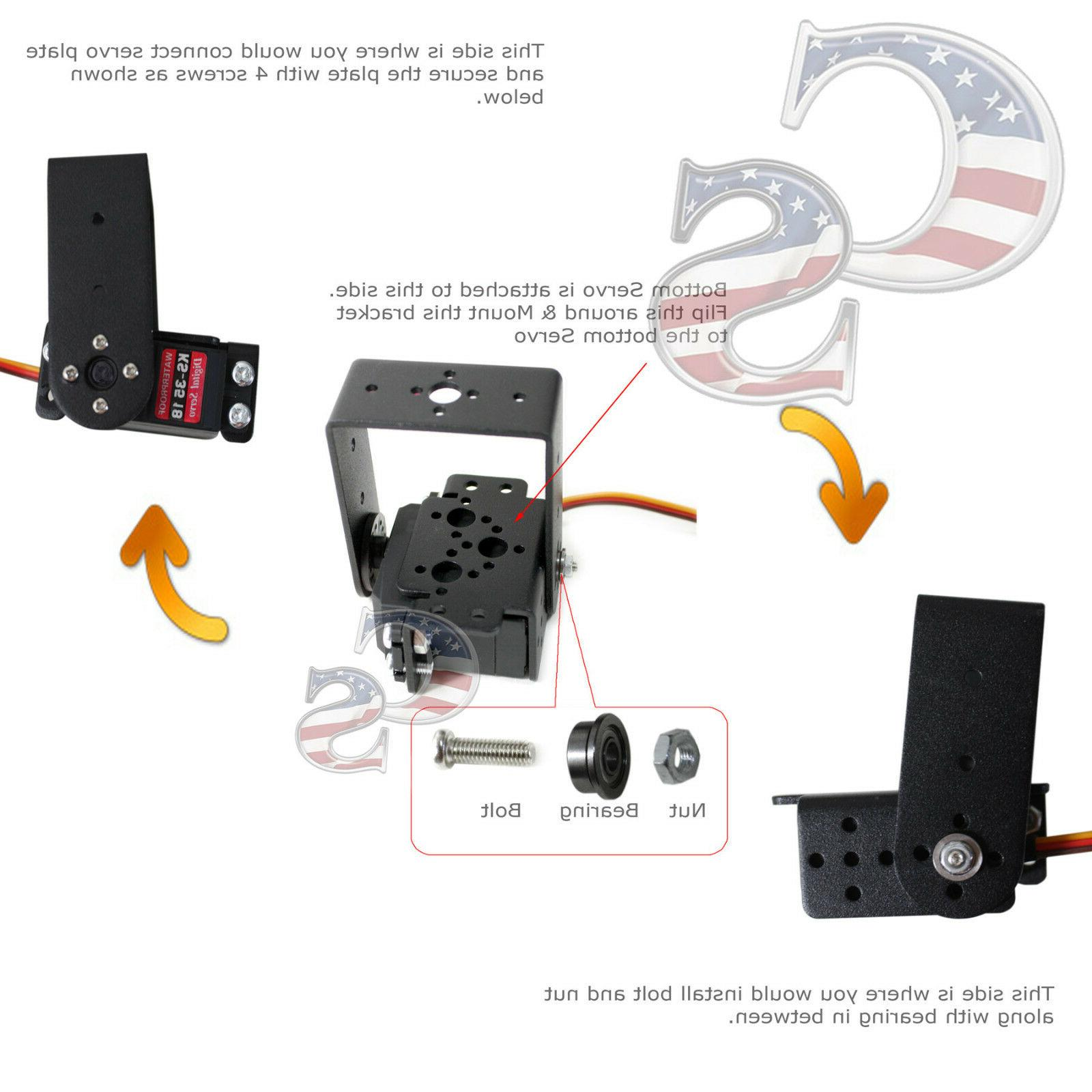 R4 Kit Mechanical Arm Clamp Claw For Arduino