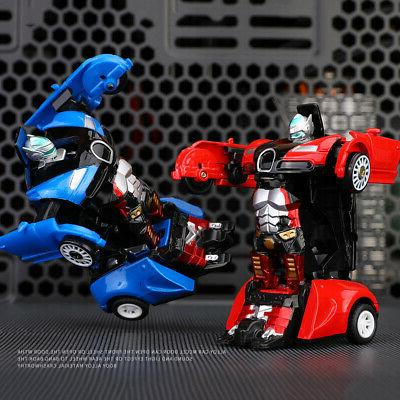 Robot Car Transformers Toys Vehicle Cool Toy For Boys