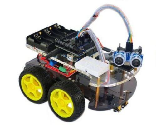 robot smart car multi functional 4wd assembly