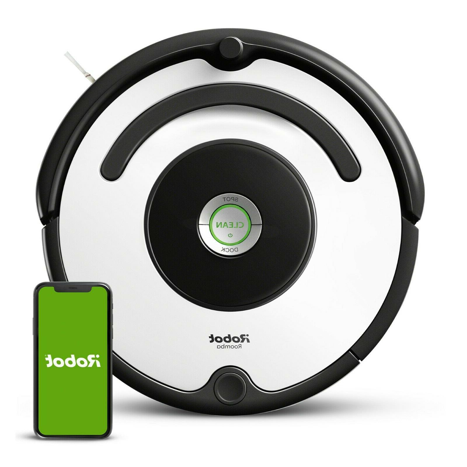 roomba 670 vacuum cleaning robot manufacturer certified