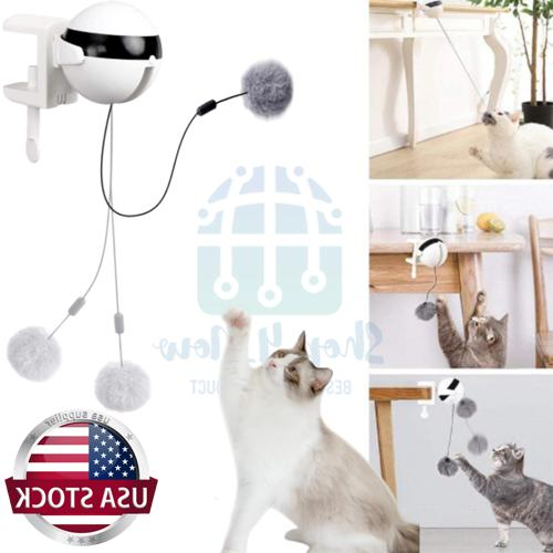 self playing cat toy teaser automatic lifting