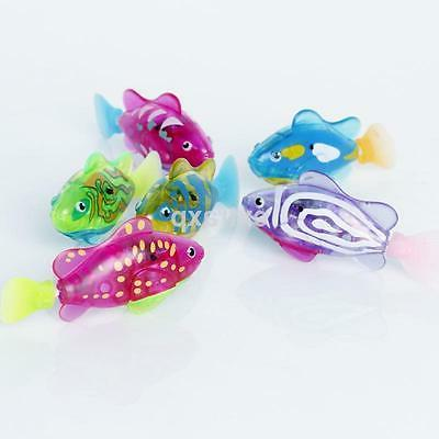 Swimming Robotic Activated in Electronic Toy Children