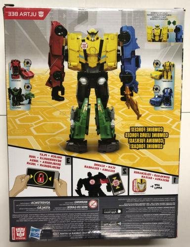 Transformers Combiner Ultra Bee New 8.5 Rare!