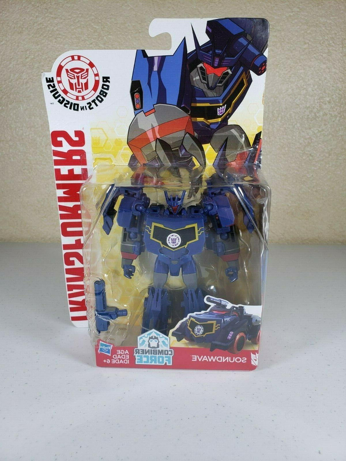 Transformers Robots Disguise Combiner Force Resealed Box