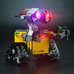 LED Lighting Kits for Robot Wall E compatible with Blocks 21
