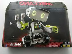 New Meccano M.A.X Robotic Interactive Toy with Artificial In