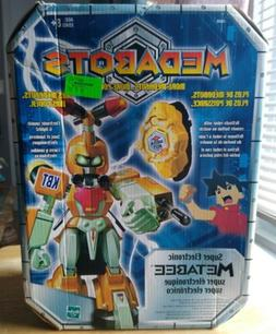 Medabots Super Electronic Metabee Figure by Hasbro NEW 2002