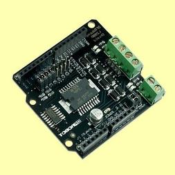 Motor Driver Shield for Arduino Uno and Compatibles for buil